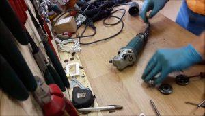 Hướng dẫn sửa máy mài cầm tay